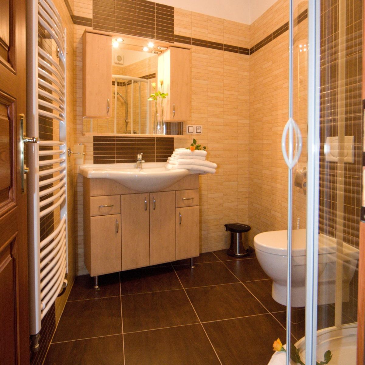 Apartmán Deluxe - koupelna