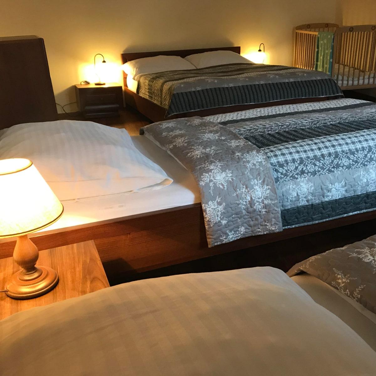 Apartmán Deluxe - ložnice
