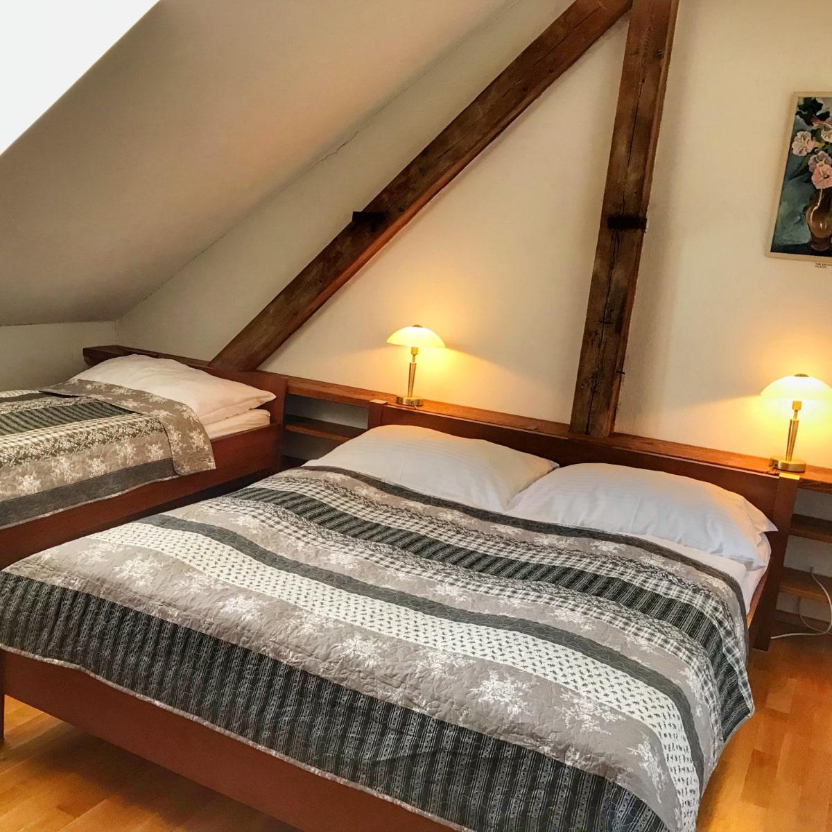 Apartmán Executive - ložnice