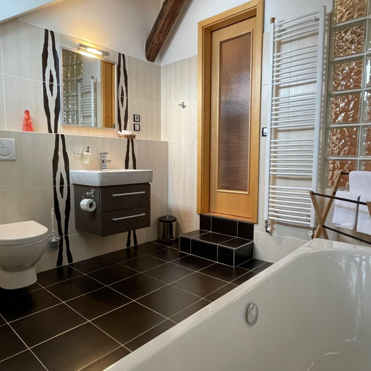 Apartmán Executive - koupelna