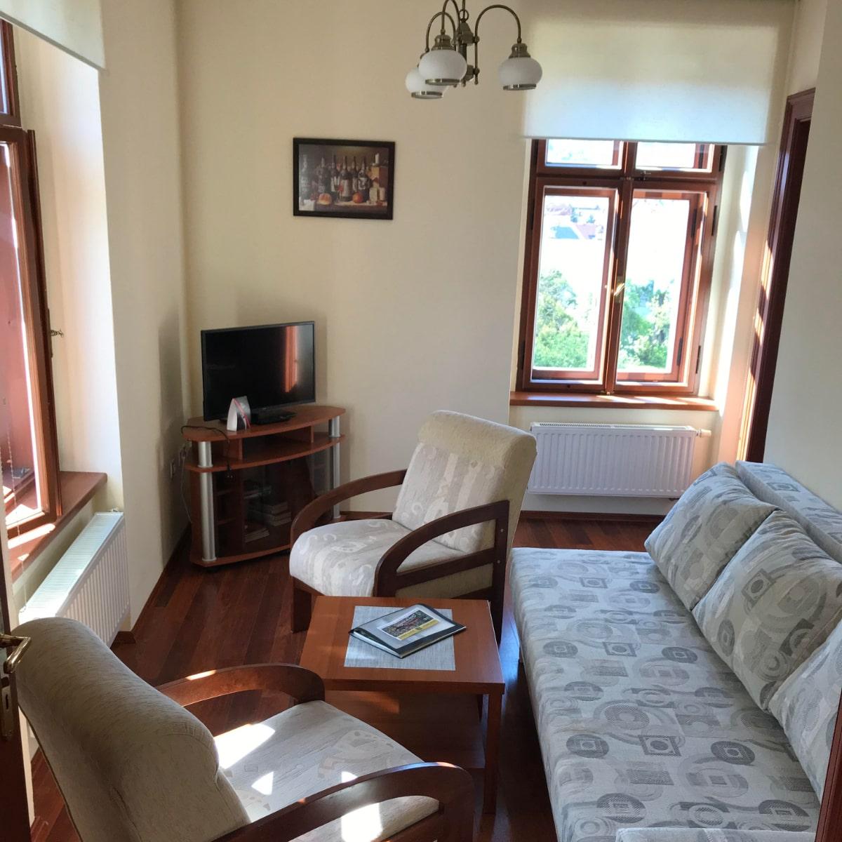 Apartmán Superior - obývací pokoj