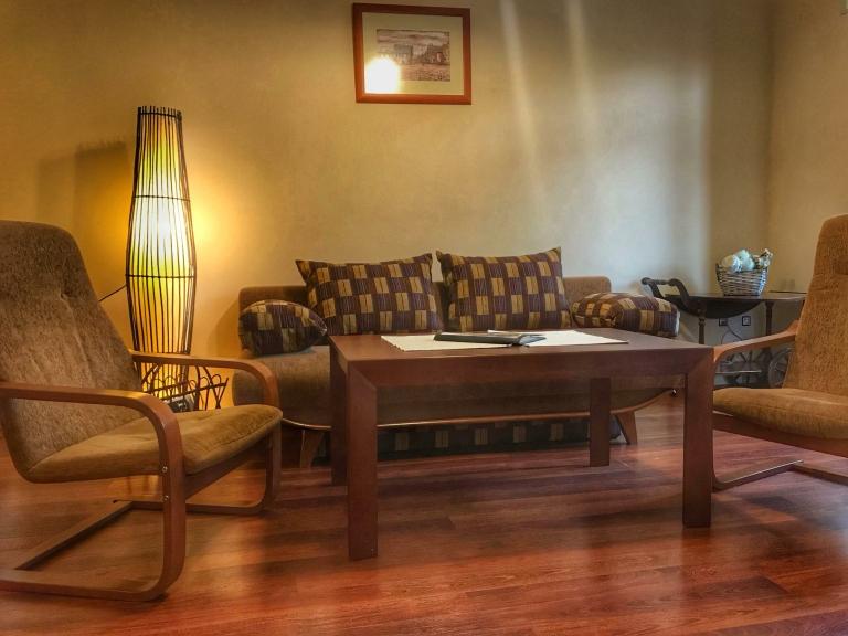 Apartmán Deluxe - obývací pokoj