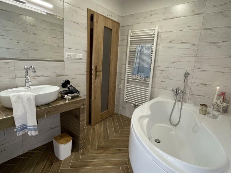 Apartmán Attic - Koupelna