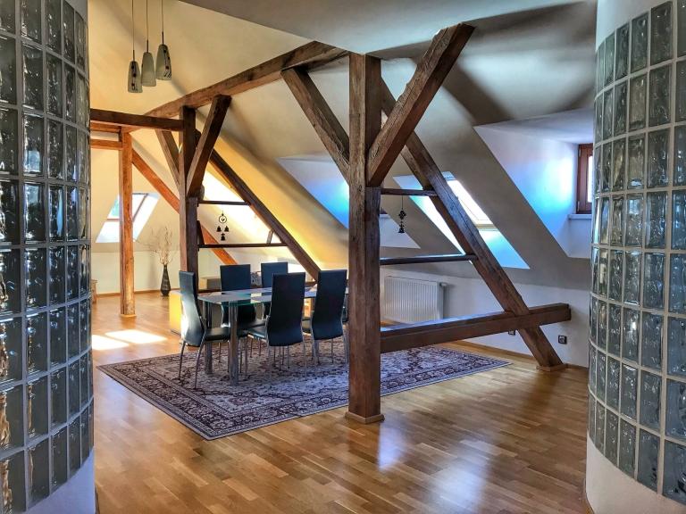 Apartmán Executive - obývací pokoj